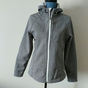 Kirkland signature grey jacket size medium